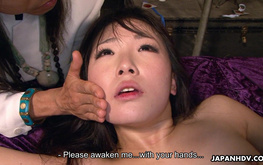 Brutal sex games with a cock-addicted Japanese hoe Ai Mizushima